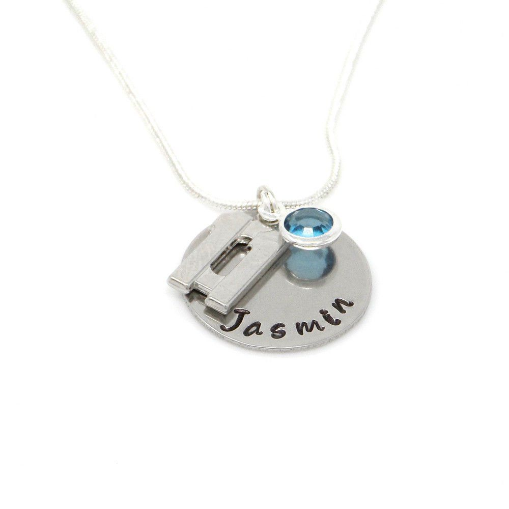 Personalised 11th Birthday Birthstone Necklace - Gift Boxed & Free Delivery UK